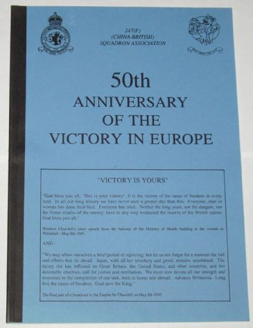 50th Anniversary of the Victory in Europe - 247 Squadron
